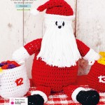 Santa Claus and Advent Calender Crochet Pattern