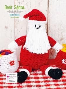 santa crochet pattern
