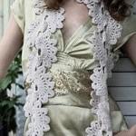 Semi-Circle Scarf Crochet Pattern