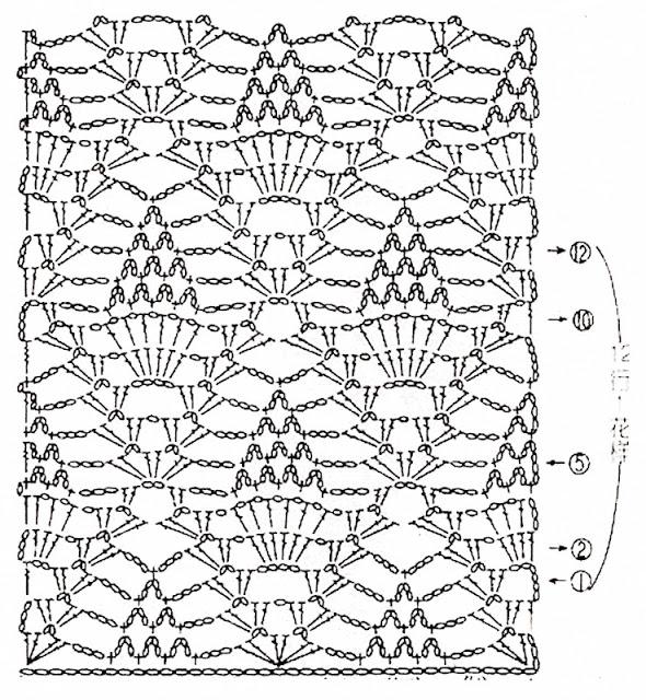 Gorgeous Dress In Crochet Pineapple ⋆ Crochet Kingdom