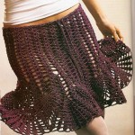 Simple Mesh Skirt Pattern Crochet