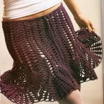 Simple Mesh Skirt Pattern Crochet