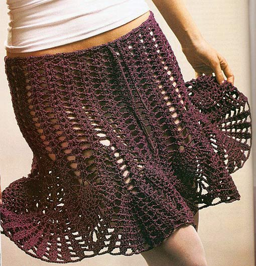 Simple Mesh Skirt Pattern Crochet ⋆ Crochet Kingdom