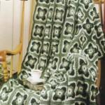 Interesting Crochet Square Afghan Pattern