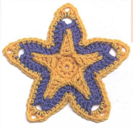 Star Crochet Motif Crochet Kingdom