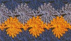 sun dials crochet stitch