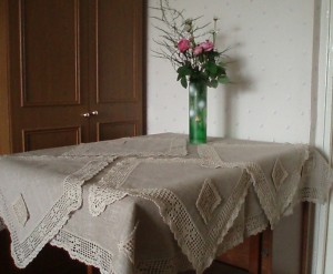 tablecloth edge crochet