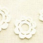 3 Sizes Crochet Flowers