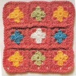 Tiny Grannies Crochet Square Pattern