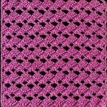 Upright - Upside-Down Crochet Fan Stitch