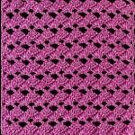 Upright - Upside-Down Crochet Fan Stitch