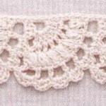 Fan Border Crochet Pattern