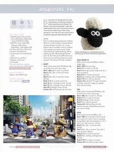 Shaun the Sheep Crochet Toy Pattern 1