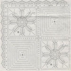 crochet blanket free pattern 1