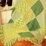 Stitch Sampler Crochet Blanket Pattern