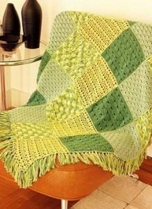 crochet blanket stitch sampler