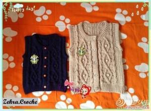 crochet childs vest pattern
