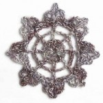Lacy Circle Crochet Motif