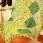 Crochet Squares Sampler Afghan