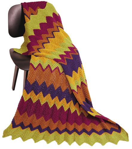 Ripple Stitch Crochet Afghan Crochet Kingdom