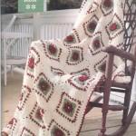 Vintage Rose Free Afghan Pattern