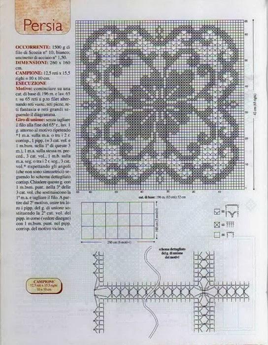 Crochet Bedspread Persia Crochet Kingdom