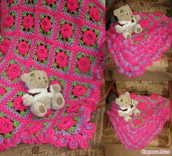 Flower Crochet Square Pattern