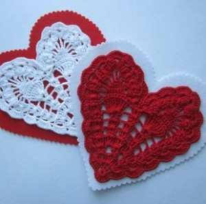 heart shape crochet