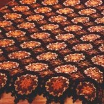 Crochet Bedspread - Flower Motif Plaid