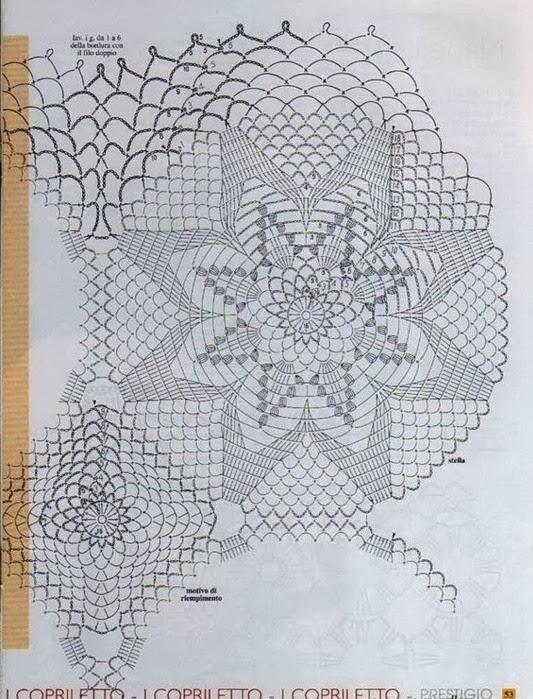 Kingdom Hearts Free Crochet Patterns : Crochet Bedspread - Hearts and Stars ? Crochet Kingdom