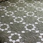 Crochet Bedspread - Swirls