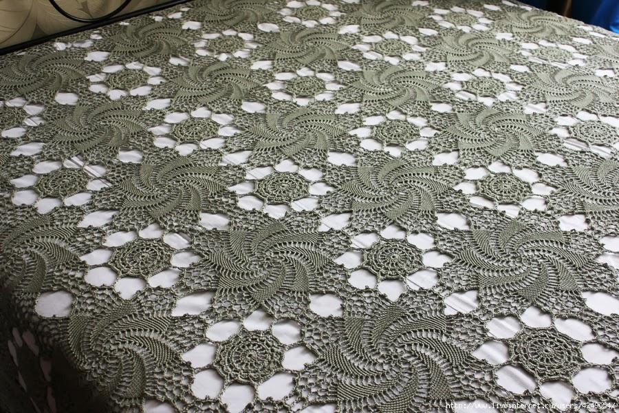 Crochet Bedspread - Swirls ⋆ Crochet Kingdom