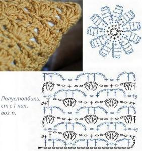 textured pillow crochet detail