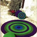 Free Round Rug Crochet Pattern