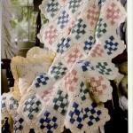 Woven Scraps Crochet Blanket