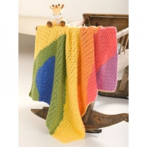 Baby Waves Free Crochet Baby Blanket