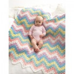 Crochet Zig-Zag Blanket