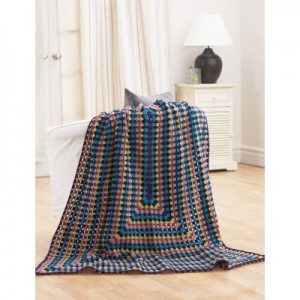 Large Rectangular Granny Blanket Crochet Pattern Free ...