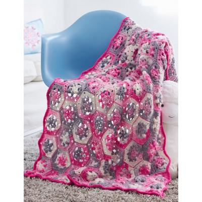 Hexi Baby Blanket Free Crochet Baby Blanket