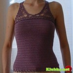 Racerback Crochet Top Pattern