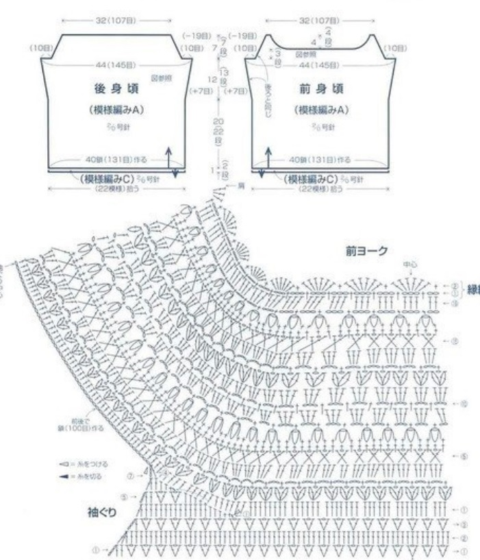 Free Crochet Patterns Diagram Top Trusted Wiring Diagram