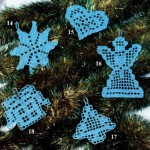 Free Christmas Tree Crochet Ornament Patterns