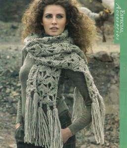 big fan chnuky crochet scarf