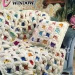 Cathedral Window Crochet Blanket Pattern