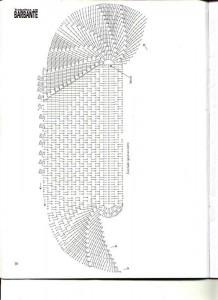 crochet oval floor rug pattern 1