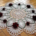 Doily with Roses