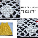 Mesh and Flowers Crochet Stitch