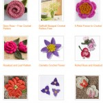 Free Crochet Patterns for Flowers and Leaves