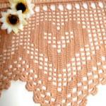 Hearts Crochet Border
