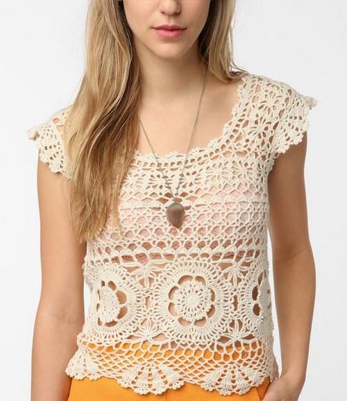 Crochet Top Beautiful Lace Crochet Kingdom